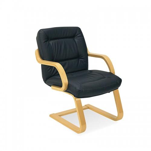 Посетителски стол - Senator черен