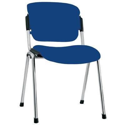 Посетителски стол Era Chrome - син