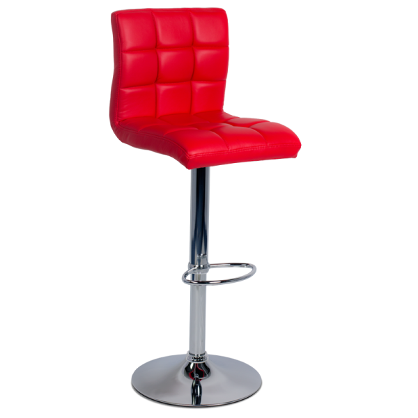Бар стол 3063 - червен