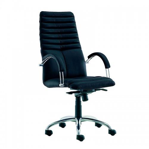 Директорски стол - Galaxy Steel черен
