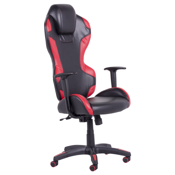 Директорски стол - 7512 черен/червен
