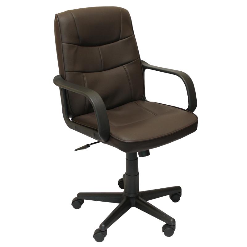 Работен стол 8016-кафяв