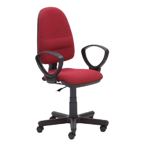 Работен стол - Perfect бордо