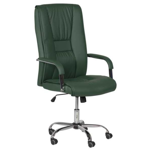 Директорски стол - 6500 маслено зелен