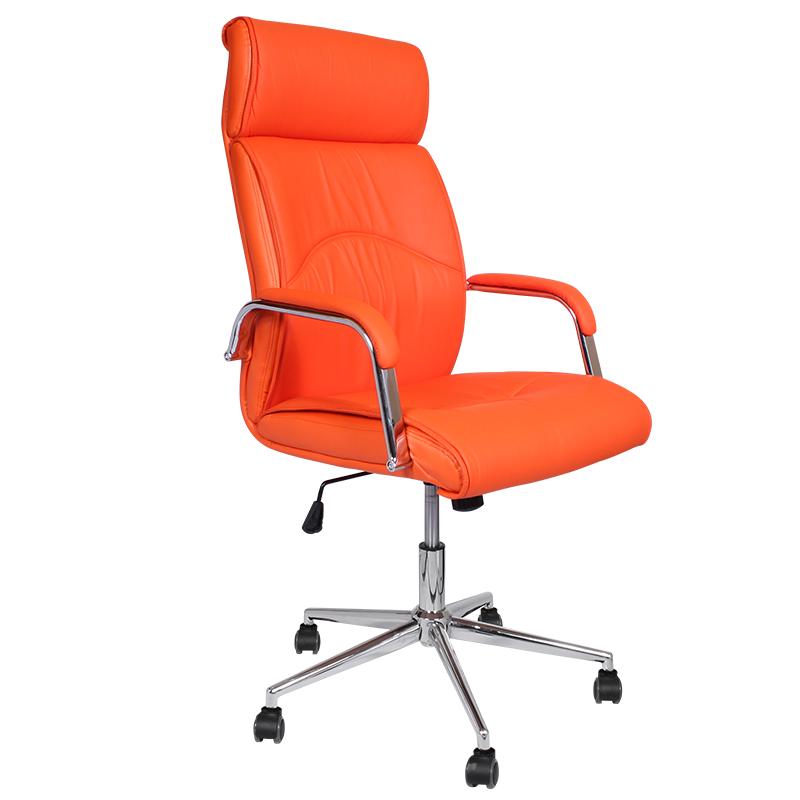 Директорски стол - 6050 оранжев