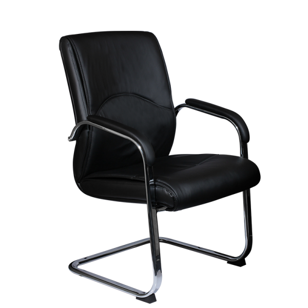 Посетителски стол - 6040 черен