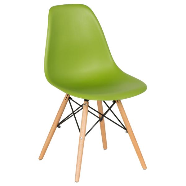 Трапезен стол-9957 зелен