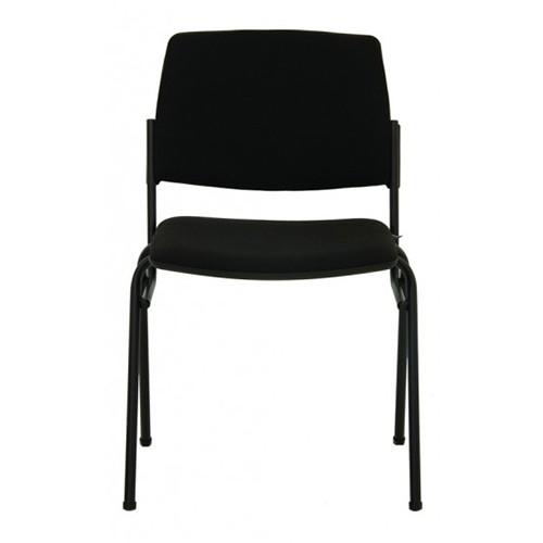 Посетителски стол Isit Black - еко кожа