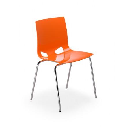 Бар стол - Fondo chrome