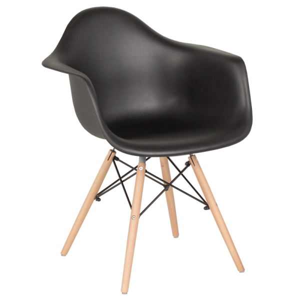 Трапезен стол-9959 черен
