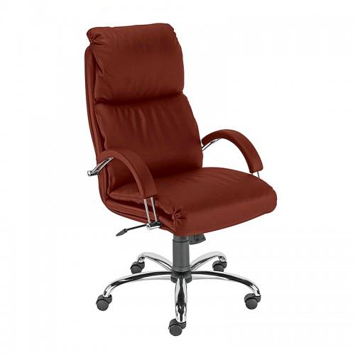 Директорски стол - Nadir Steel кафяв