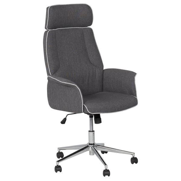 Офис кресло - 7508 сиво