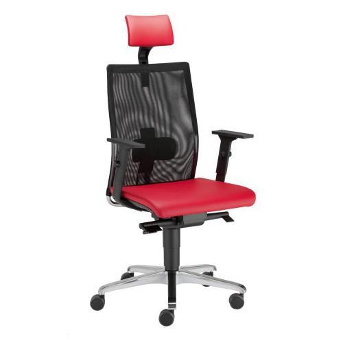 Директорски стол Intrata M-23 червен