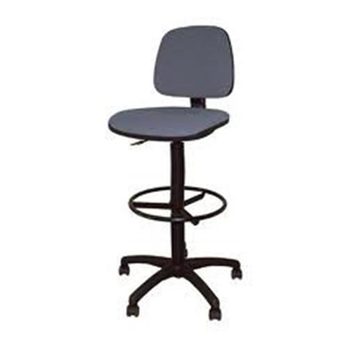Работен стол - Pluton RB сив