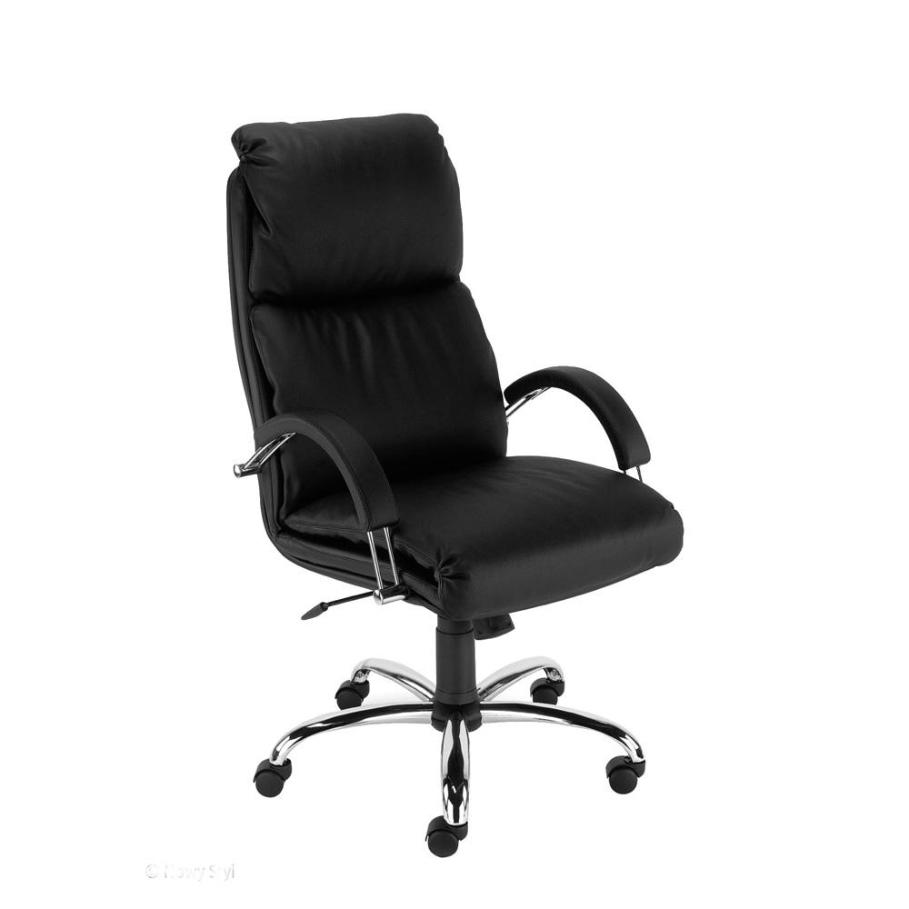 Директорски стол - Nadir Steel черен