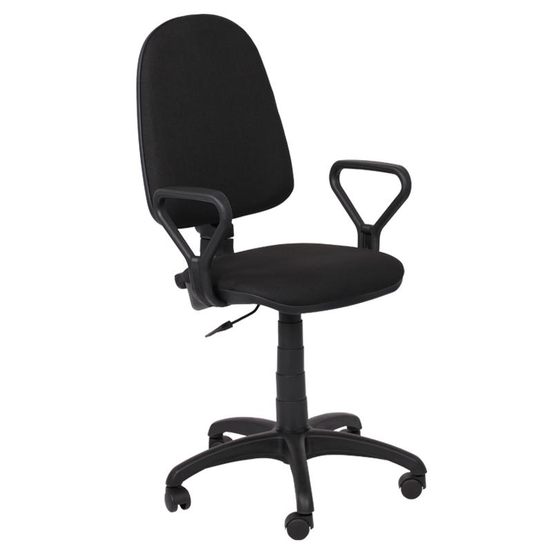 Работен стол - Престиж черен