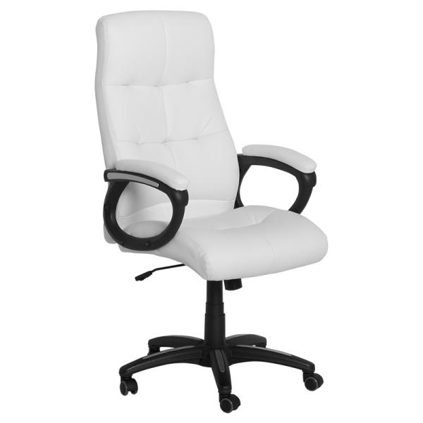 Директорски стол- 6504 бял