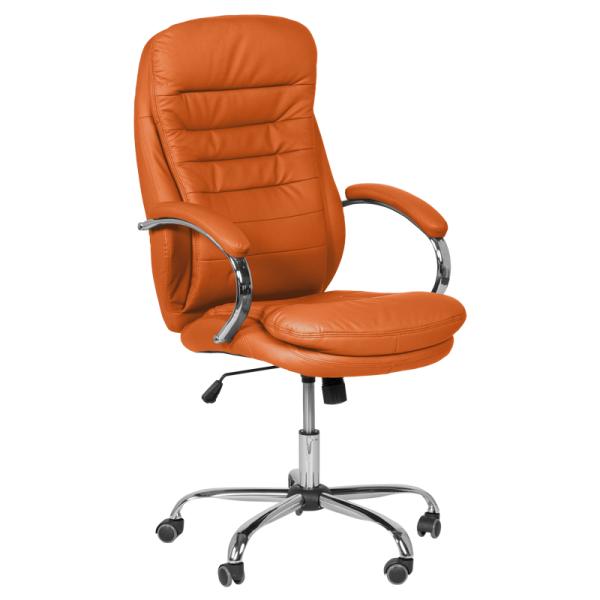Директорски стол - 6113 оранжев