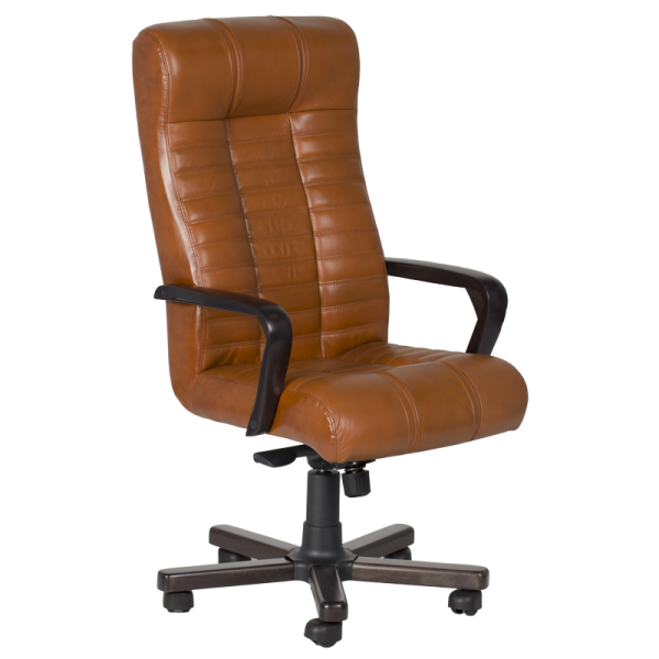 Директорски стол - Atlas коняк LUX