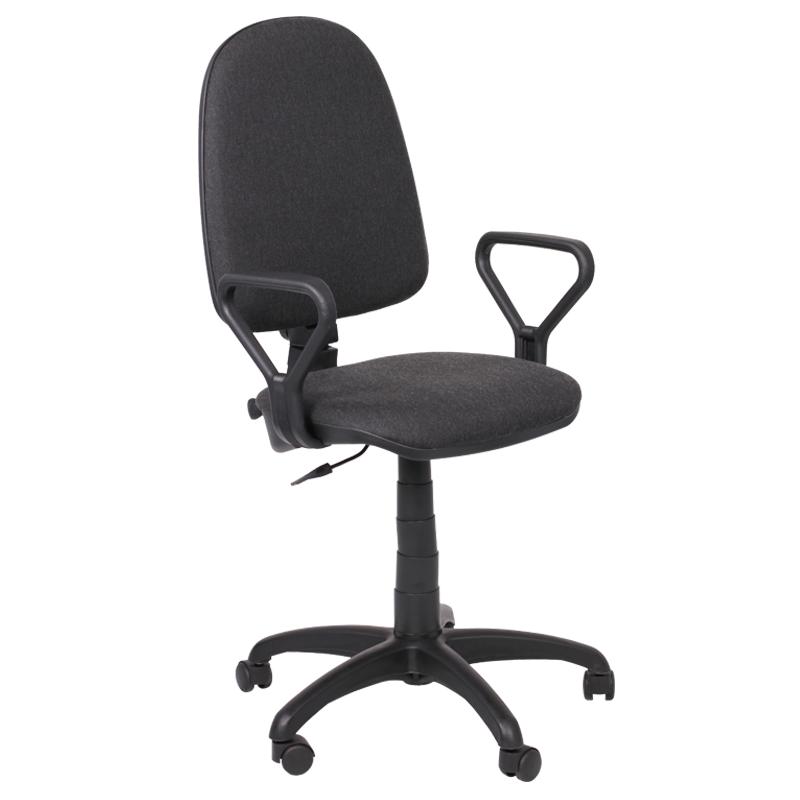 Работен стол - Престиж сив