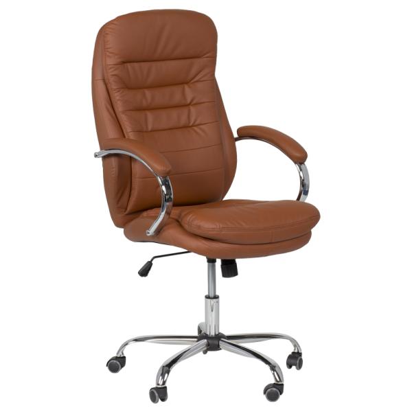Директорски стол - 6113 тъмно оранжев