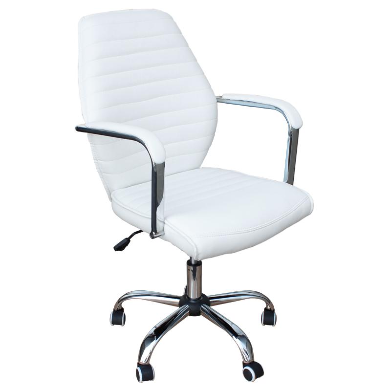 Работен стол - 6074-1F бял