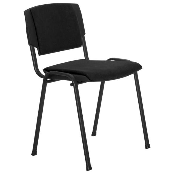 Посетителски стол - Prizma Lux черен