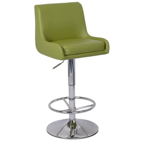 Бар стол 3066 - зелен