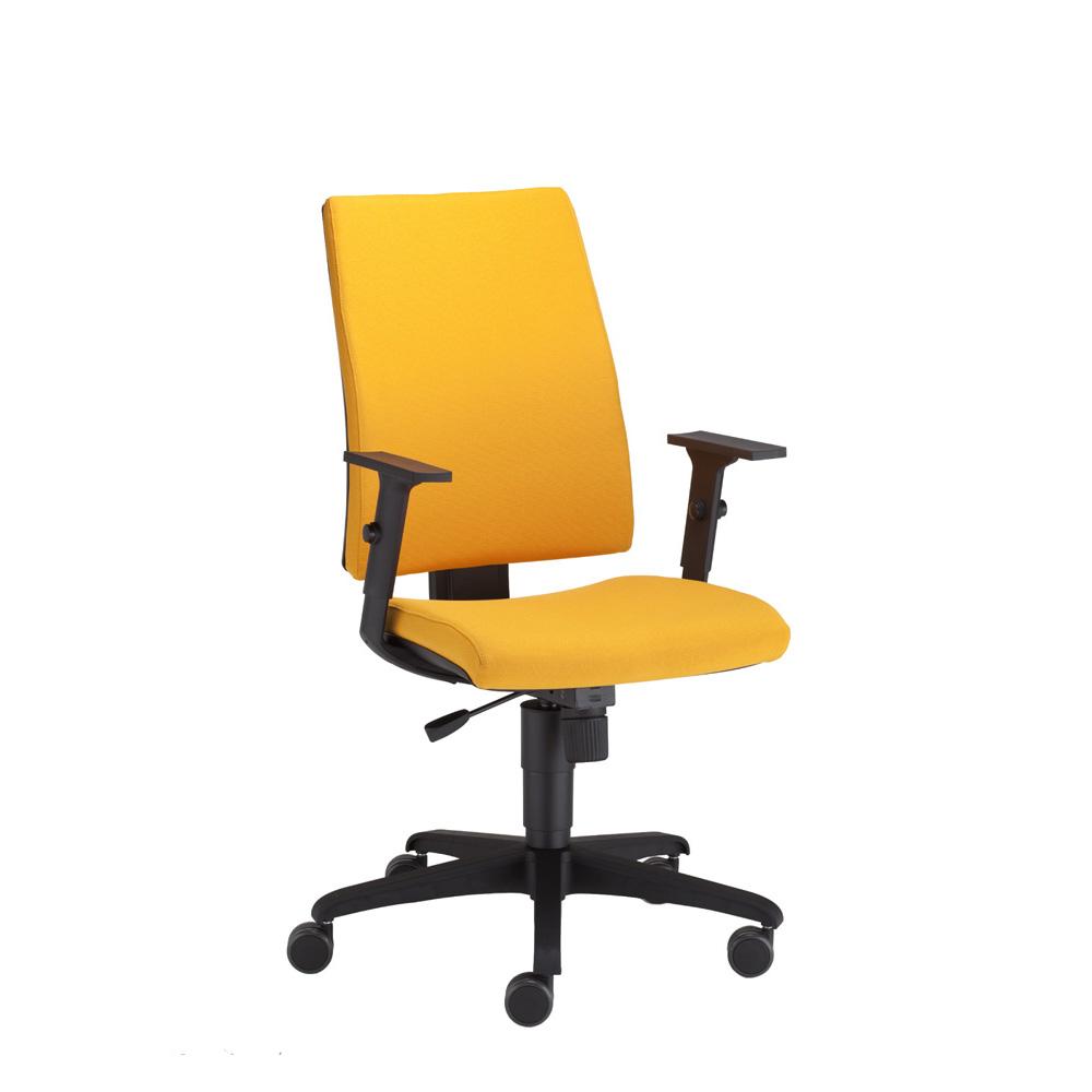 Директорски стол Intrata О-12 оранжев