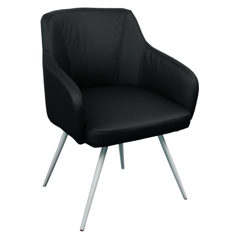 Офис кресло 2007 - черен