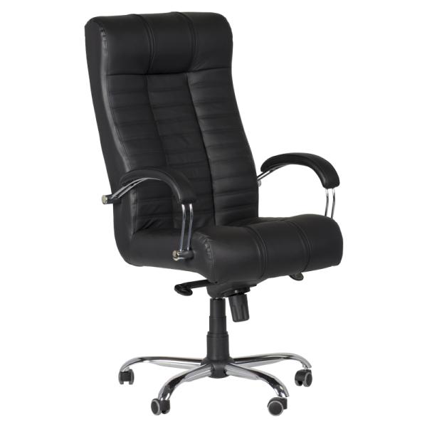 Директорски стол - Plato черен