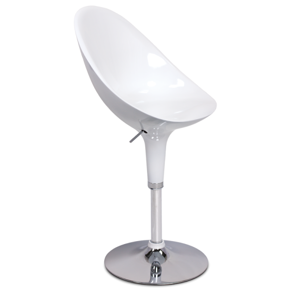 Бар стол 3072 - бял