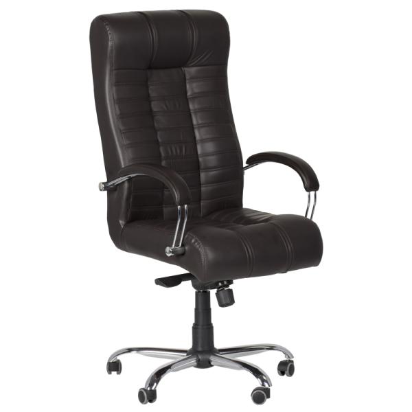 Директорски стол - Utopia тъмно кафяв