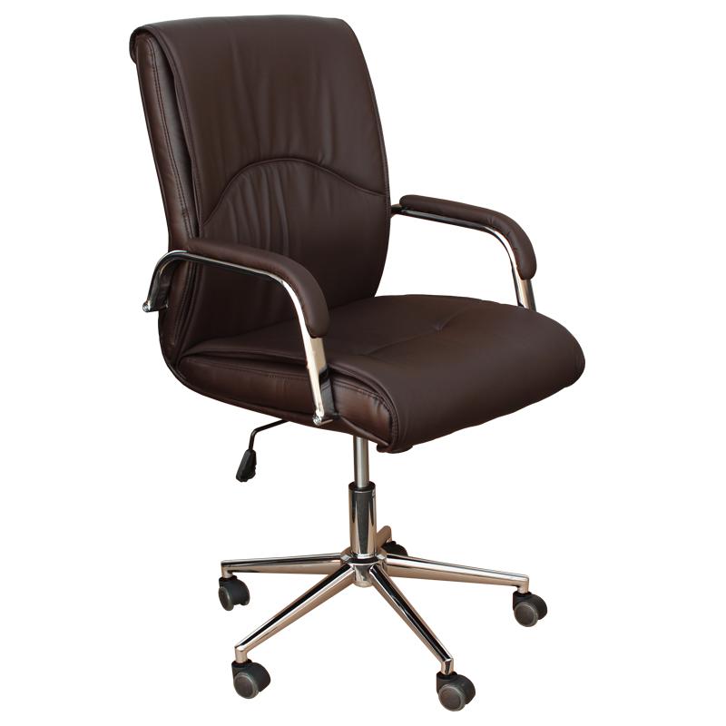 Работен стол - 6060 тъмно кафяв