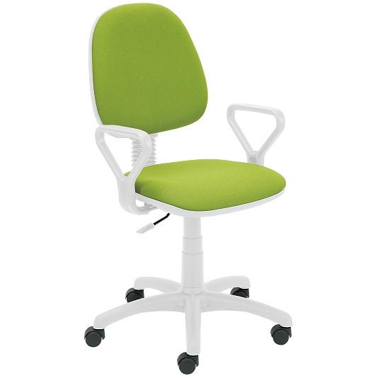 Работен стол - Regal White зелен