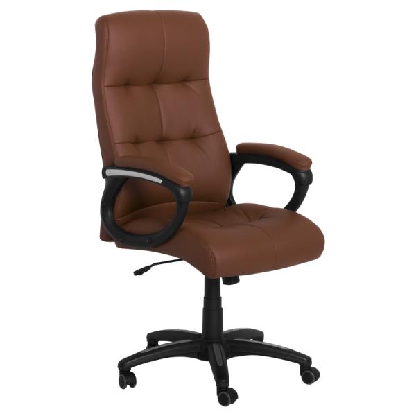 Директорски стол- 6504 кафяв