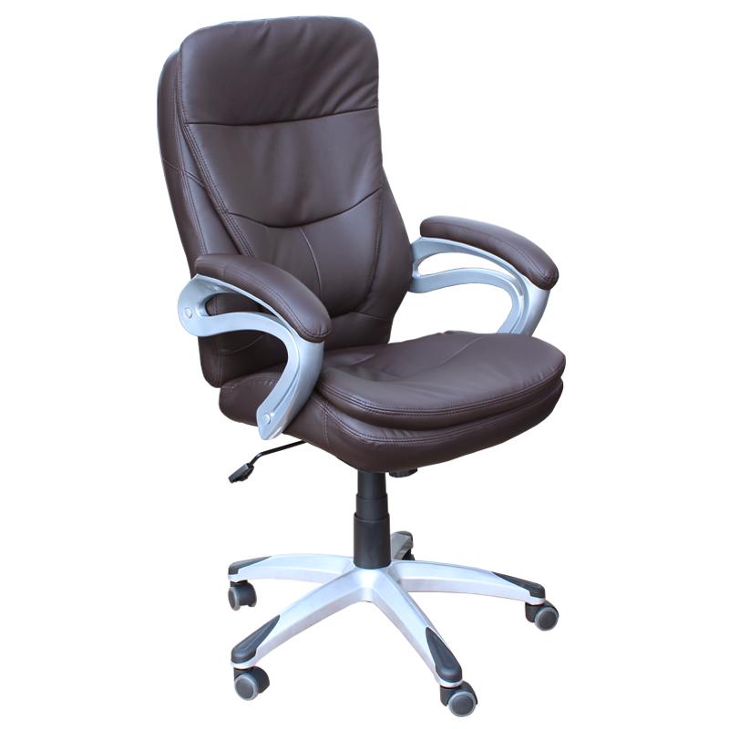 Директорски стол - 6056 тъмно кафяв