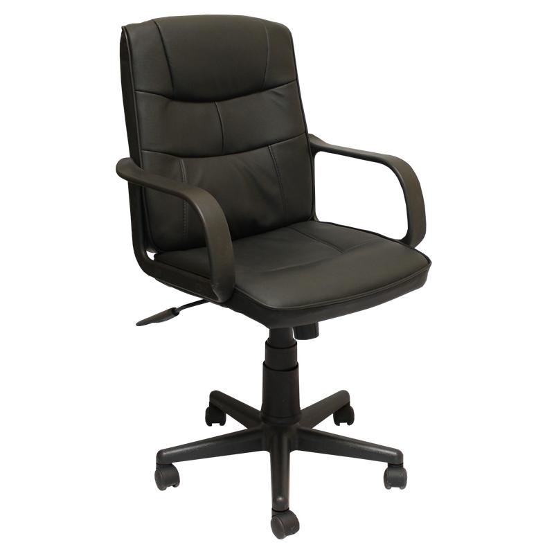 Работен стол 8016-черен