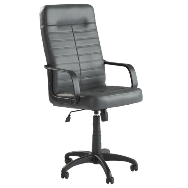 Директорски стол Ledli - тъмно сив