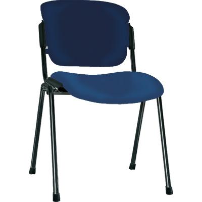 Посетителски стол Era Black - син