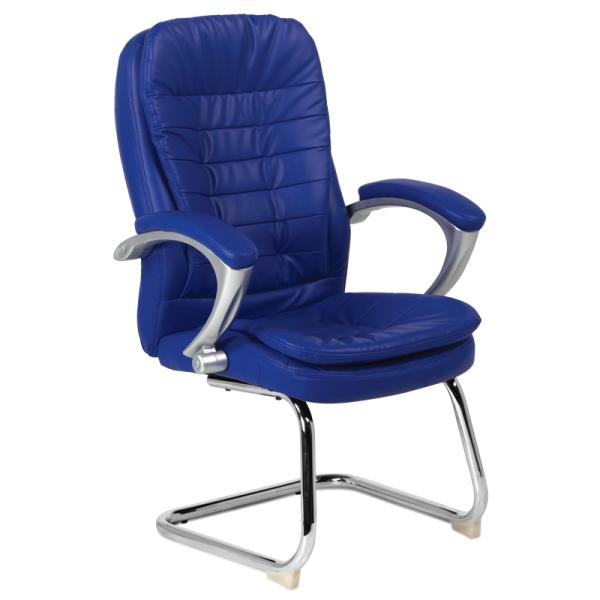 Посетителски стол - 6054 син
