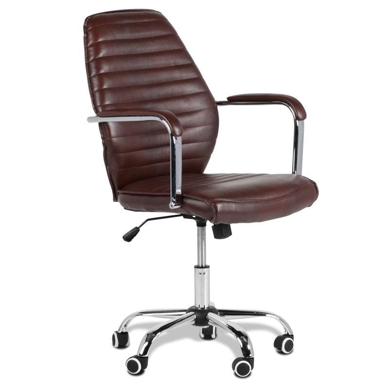 Работен стол - 6074-1F пясъчно кафяво