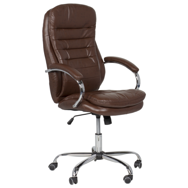 Директорски стол - 6113 искрящо кафяв