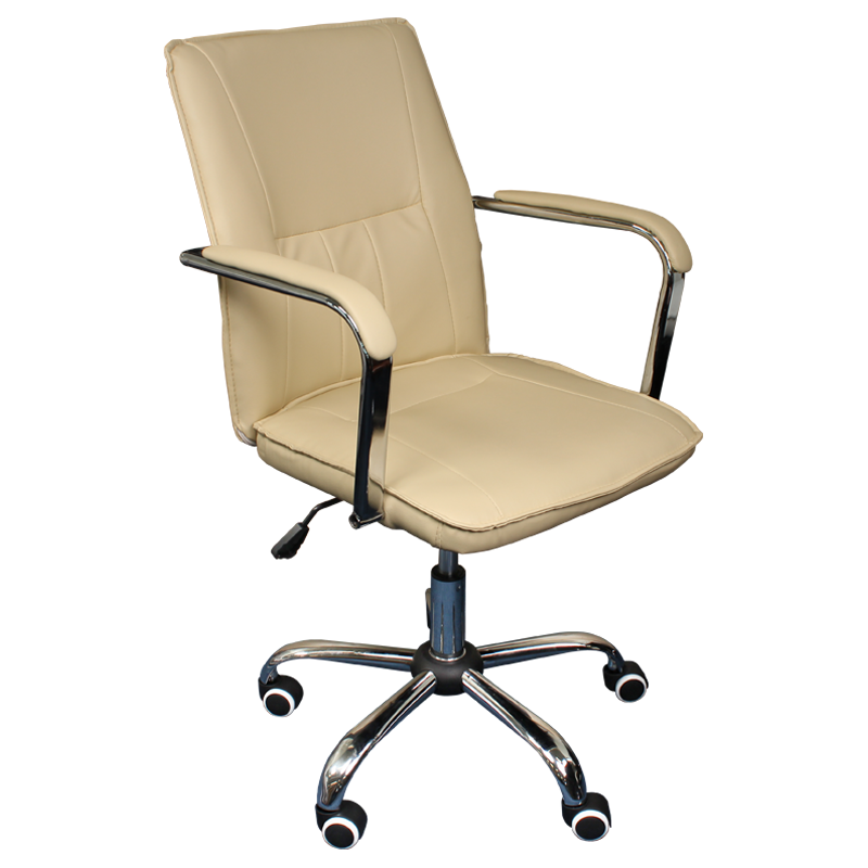 Работен стол - 6073-1F бежов
