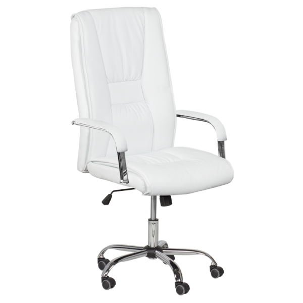 Директорски стол - 6500 бял