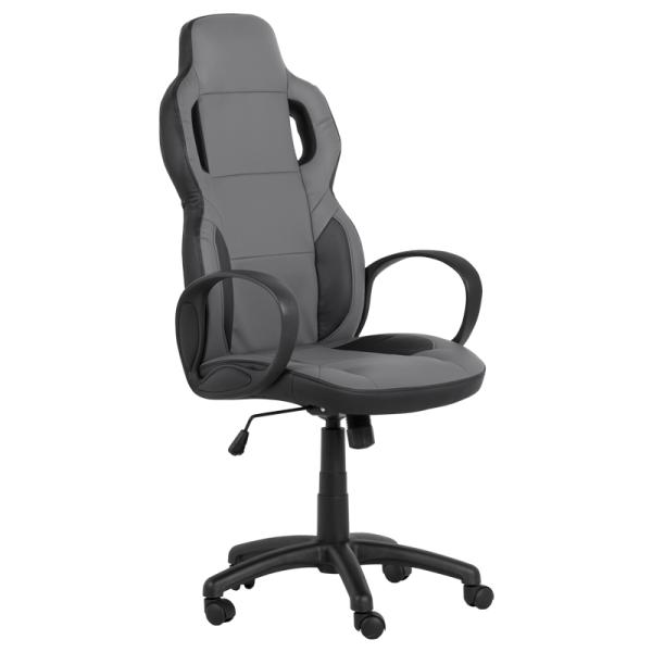 Директорски стол - 7510 черен/сив