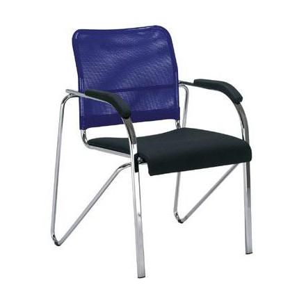 Посетителски стол - Samba Net син