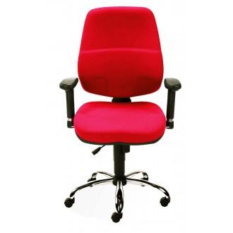 Работен стол  T-bar 10 червен