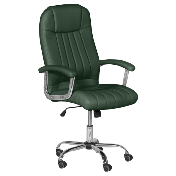 Директорски стол - 6181 маслено зелен