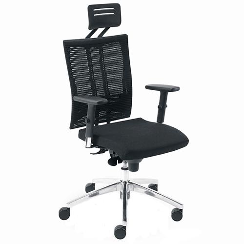 Работен стол @-Motion черен